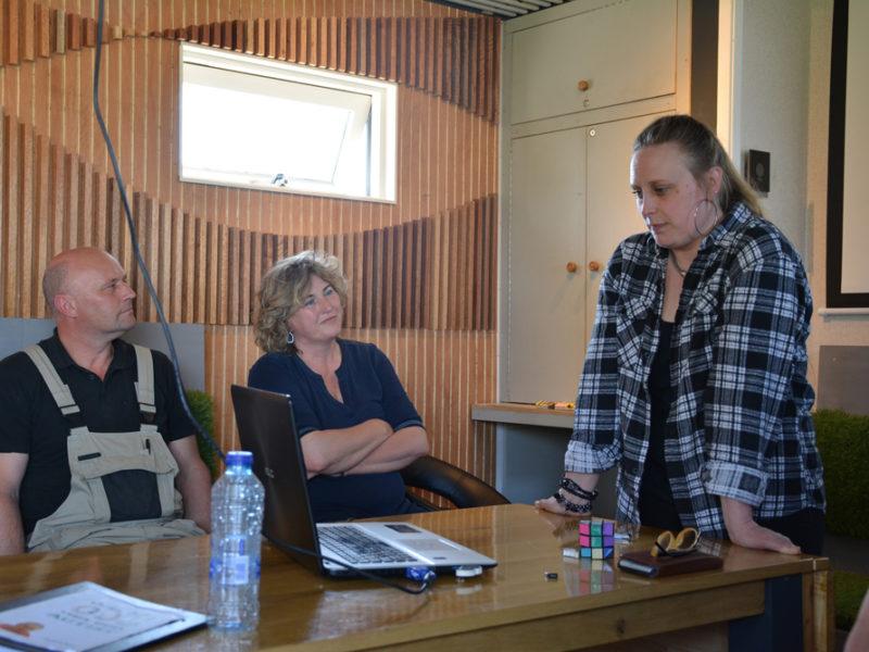Judith Ros geeft Autismetraining op Landgoed De 4 Elementen