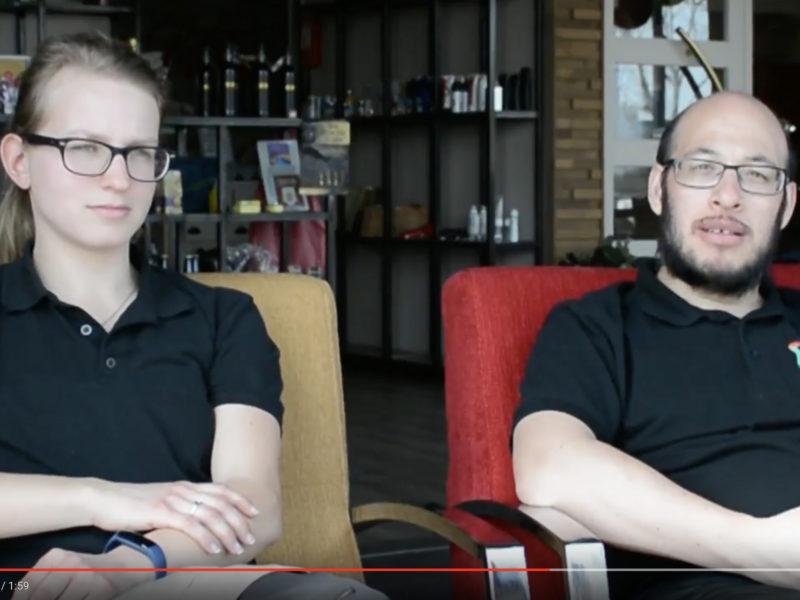 Jessica en Paulo vertellen over 'Festival Voorbij de grens' op 30 Juni 2018 bij De 4 Elementen
