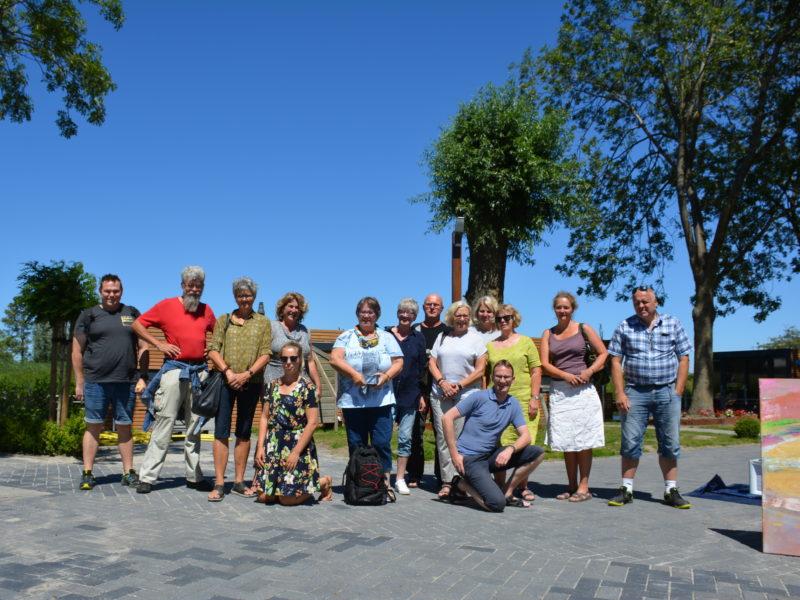 Vanuit Leader bezochten dertig Denen Friesland en De 4 Elementen