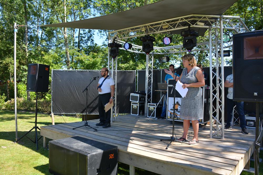 Festival Voorbij de grens op Landgoed De 4 Elementen in Stroobos