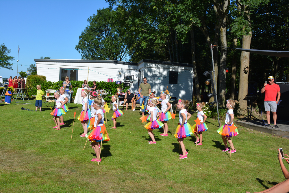 GSV Let's Move speelt op het festival van De 4 Elementen