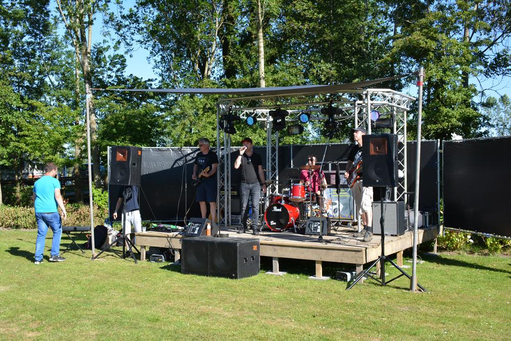Room2Roam op het festival Van De 4 Elementen in Stroobos