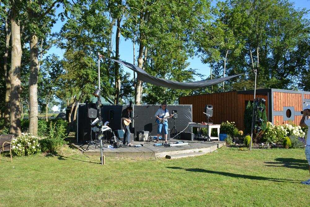 dUnk op het festival Van De 4 Elementen in Stroobos