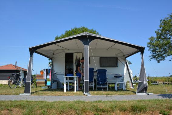 Interview met gasten van Camping De 4 Elementen in Stroobos, Friesland