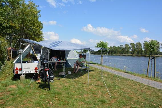 Kleinschalig kamperen in de natuur bij Camping De 4 Elementen in Friesland