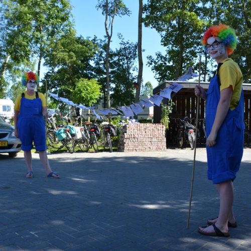 Festival Voorbij de Grens bij De 4 Elementen in Stroobos