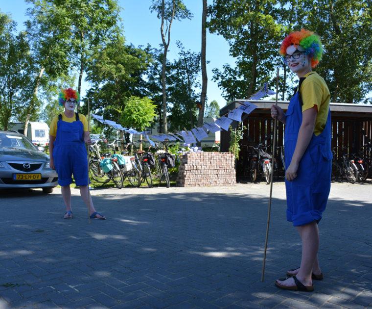 GSV Let's Move uit Grootegast bij gratis Festival Voorbij de Grens in Stroobos (Friesland / Groningen)